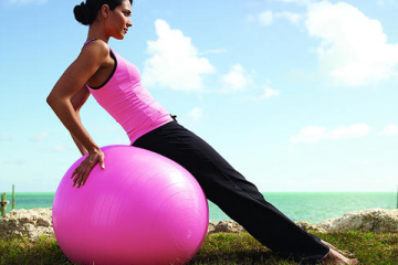 GODHAP-4-Fitness-woman-with-pink-exercise-ball