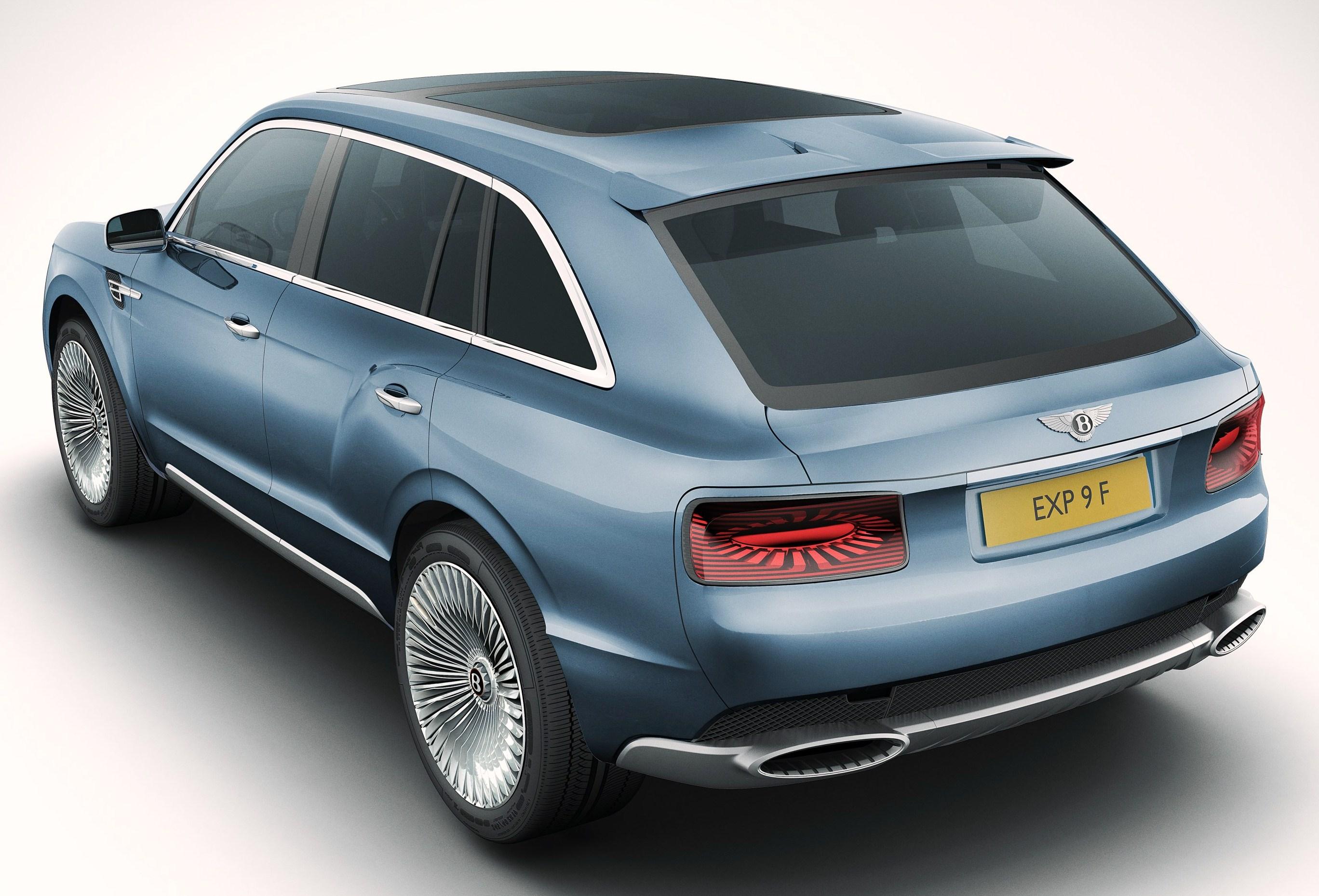 2014 Bentley Truck Bentley-suv-rear