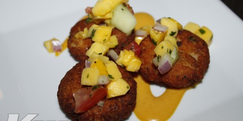 Kore-Magazine_Bar-One_Key-Influencers-Dinner_Fish-Cakes-Mango-Salsa