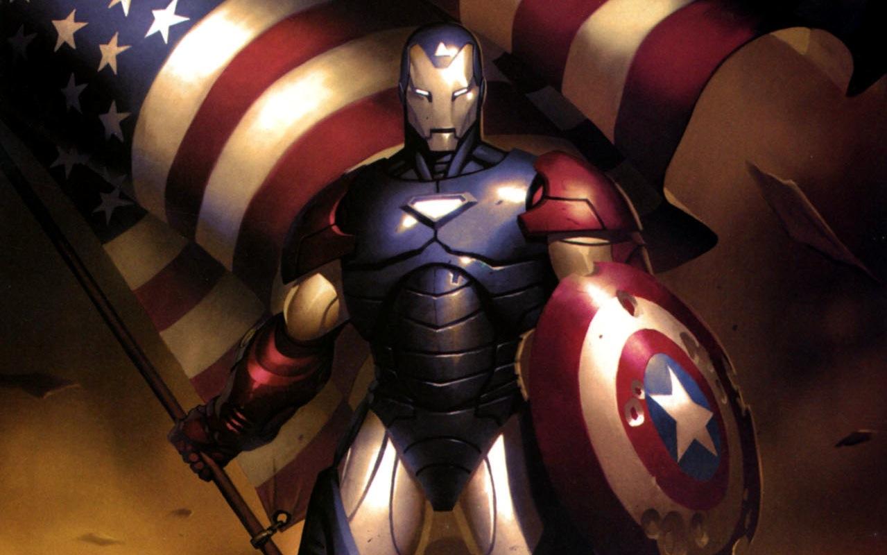 Iron Patriot Comic Iron Patriot Comic