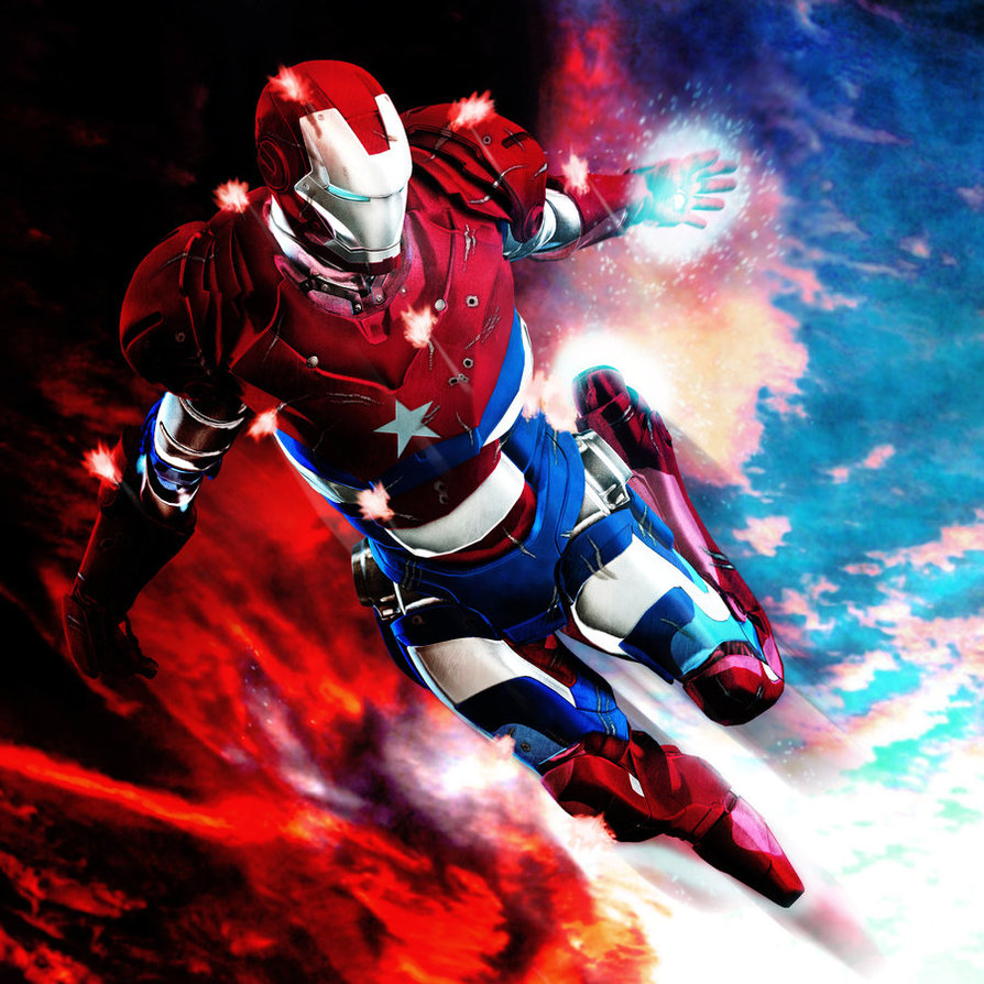 Iron Patriot Comic Iron Patriot by 6and6 D3e9r28