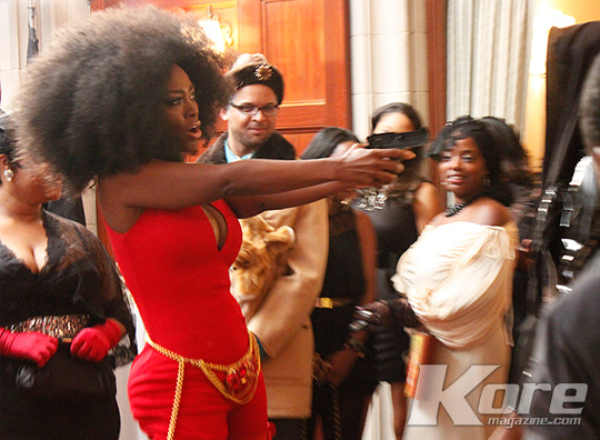 Forever Relevant :: Kenya Moore Hosts Costume Gala