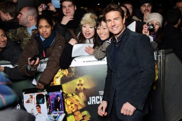 Jack Reacher - World Premiere - Red Carpet Roaming Arrivals