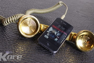 Native Union Gold Pop Phone - Kore Magazine