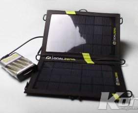 Goal Zero - Solar Battery Charger - Kore Magazine 1