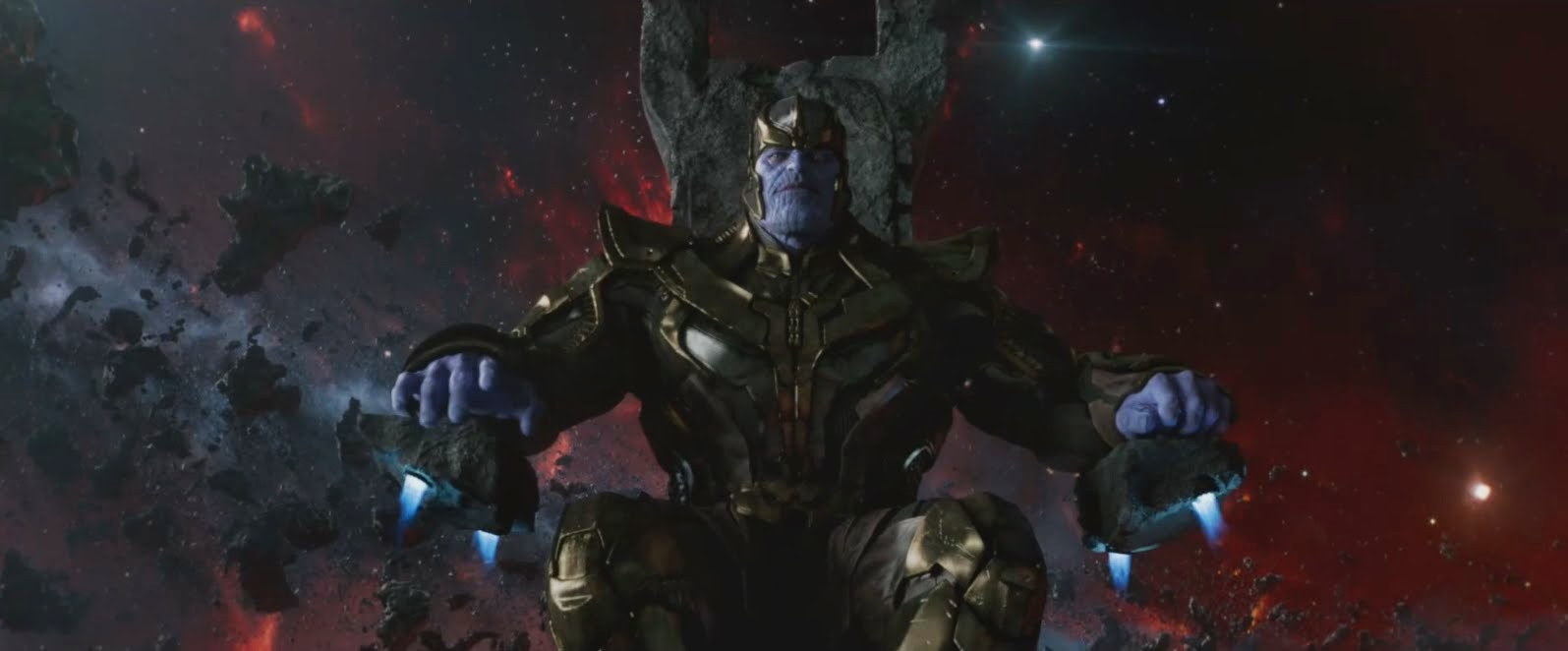 Josh Brolin as Thanos in Marvel Cinematic Universe 2