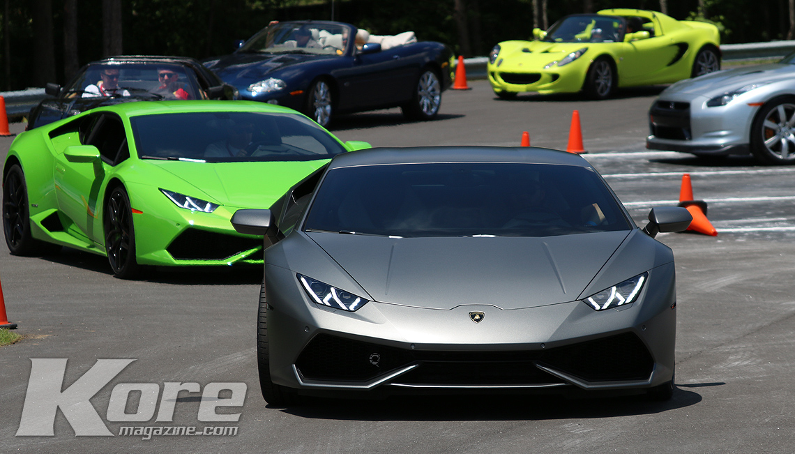 Lambo Line Up 2 - Kore Magazine Rides to Remember