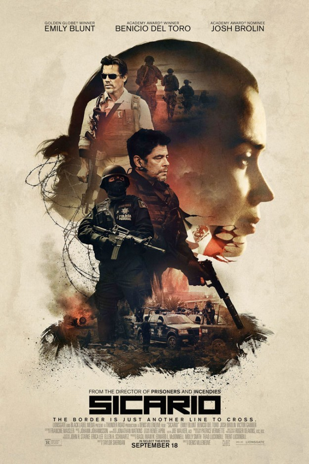Sicario Movie Artwork